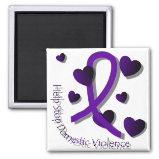 Imán de la conciencia de la violencia en el hogar