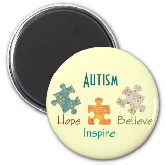 Imán de la conciencia del autismo