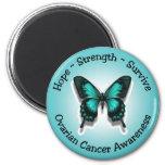Imán de la conciencia del cáncer ovárico