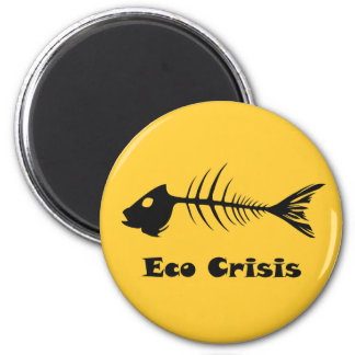 Imán de la crisis de Eco de la espina de pez