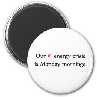 Imán de la crisis de la energía
