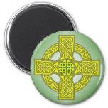 Imán de la cruz céltica - disponible en todos los