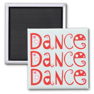 Imán de la danza de la danza de la danza