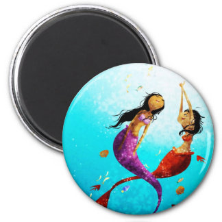 Imán de la danza del agua