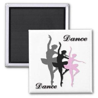Imán de la danza del ballet