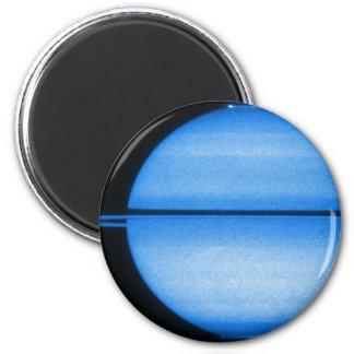 Imán de la demostración de la luz de Saturn