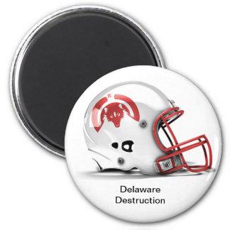 Imán de la destrucción de Delaware