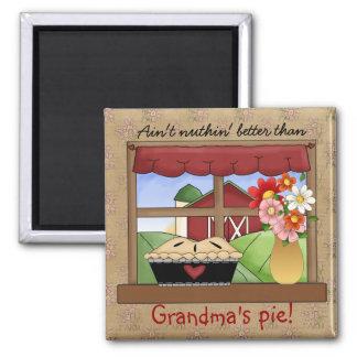 Imán de la empanada del país de la abuela