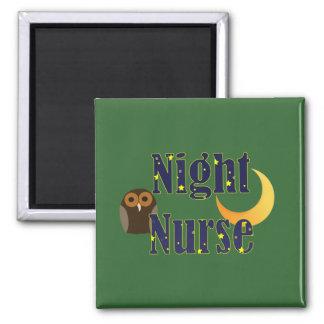 Imán de la enfermera de noche