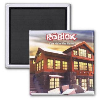 Imán de la escena del invierno de ROBLOX