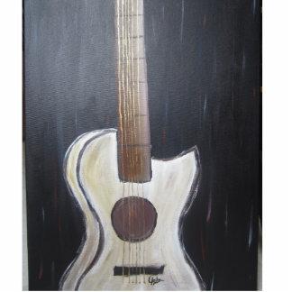 Imán de la escultura de la foto de la guitarra escultura fotografica