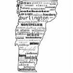 Imán de la escultura de Vermont Escultura Fotográfica