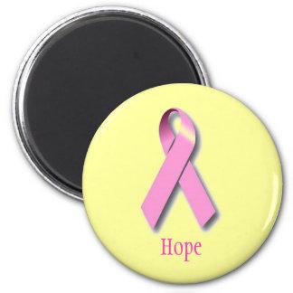 Imán de la esperanza del cáncer de pecho