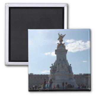imán de la estatua de la reina Victoria