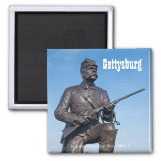 Imán de la estatua II de Gettysburg
