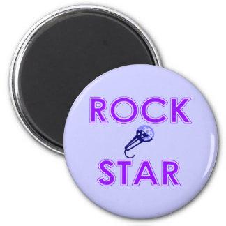 Imán de la estrella del rock