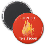 Imán de la estufa de la seguridad de incendio domé
