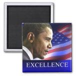 Imán de la excelencia de presidente Barack Obama