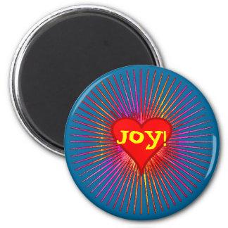 Imán de la explosión de la alegría