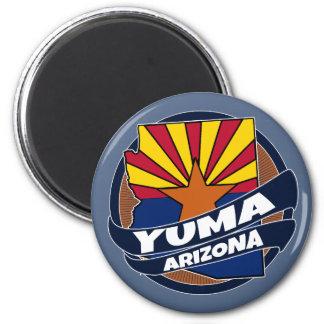 Imán de la explosión de la bandera de Yuma Arizona