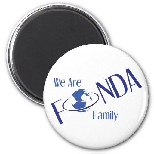 Imán de la familia de Fonda