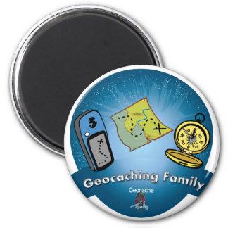 Imán de la familia de Geocaching