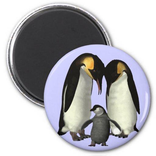 Imán de la familia del pingüino