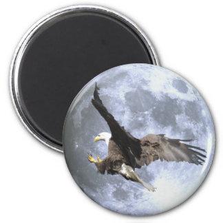 Imán de la fauna de EAGLE CALVO de aterrizaje y de