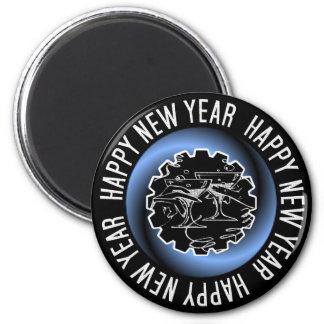 Imán de la Feliz Año Nuevo 2