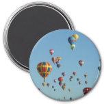 Imán de la fiesta del globo