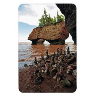 Imán de la flexión de Nuevo Brunswick de las rocas
