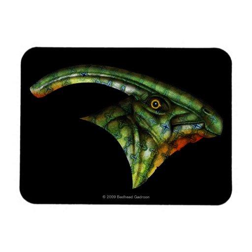 Imán de la flexión del Hadrosaur