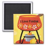 """Imán de la """"fondue"""" de queso"""