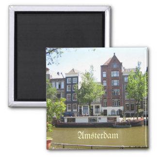 Imán de la foto de Amsterdam