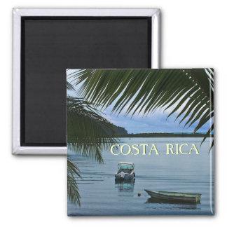 Imán de la foto de Souvenire del viaje de Costa Ri