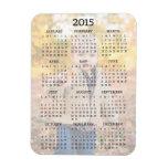 Imán de la foto del calendario del personalizado