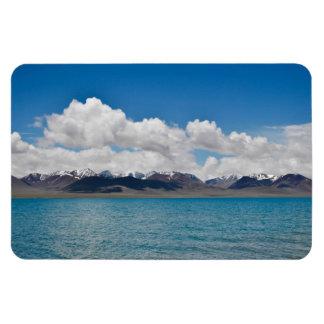 Imán de la foto del lago Namtso