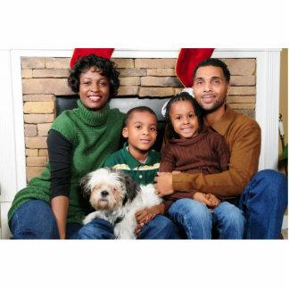 Imán de la foto - familia de la muestra fotoescultura vertical