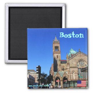 Imán de la fotografía de Boston Massachusetts