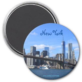 Imán de la fotografía de New York City