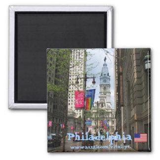 Imán de la fotografía de Philadelphia