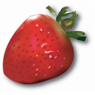 Imán de la fresa del verano imán fotoescultura