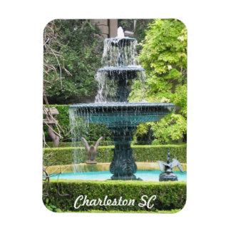 Imán de la fuente del jardín de Charleston