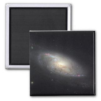 Imán de la galaxia espiral