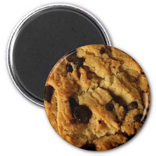 Imán de la galleta de microprocesador de chocolate