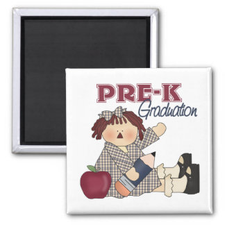 Imán de la graduación de Pre-K