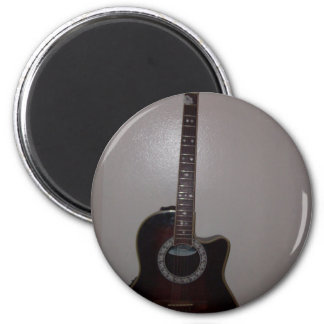 imán de la guitarra