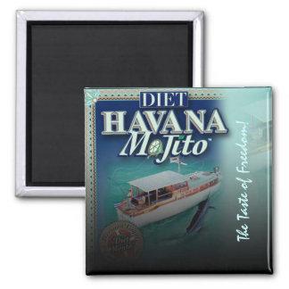 Imán de La Habana Mojito de la dieta