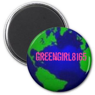 Imán de la identificación GreenGirl8165