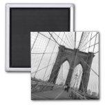 Imán de la inclinación del puente de Brooklyn